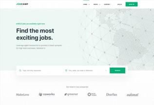 Jobcamp – Premium Responsive Job Board HTML5 Template
