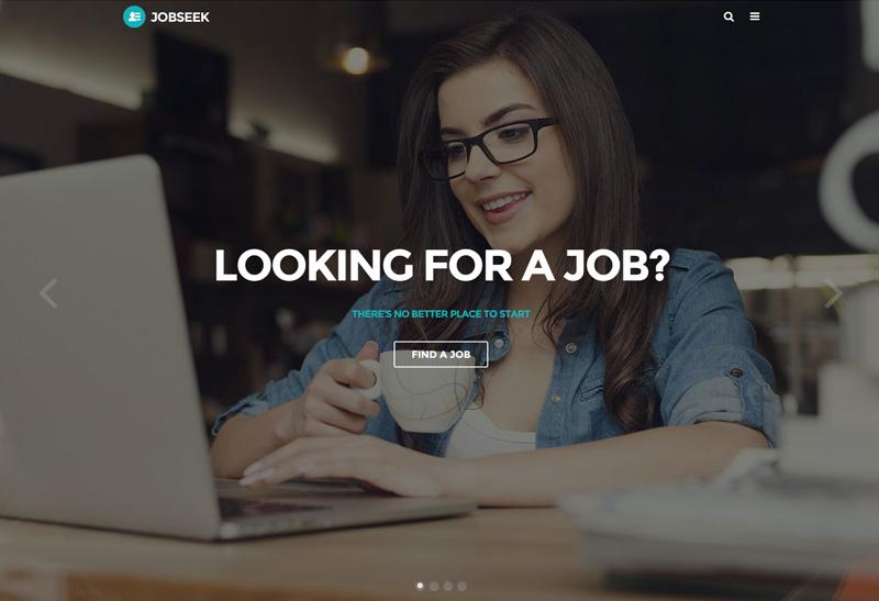 job seek html template  Jobseek - Premium Responsive Job Board HTML Template