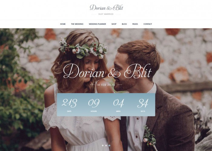 Jolly – Premium Responsive Wedding Invitation WordPress Theme
