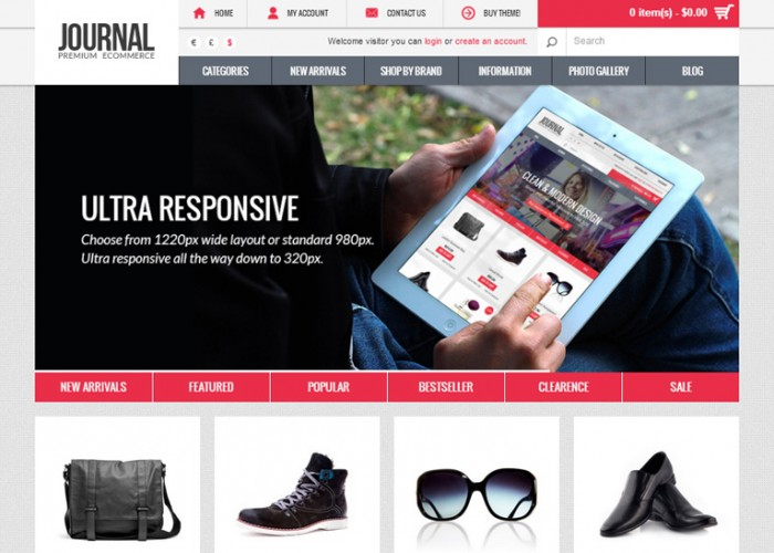 Journal – Premium Responsive OpenCart Theme