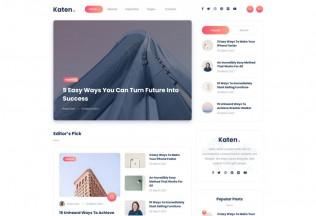 Katen – Premium Responsive Minimal Blog & Magazine HTML5 Template