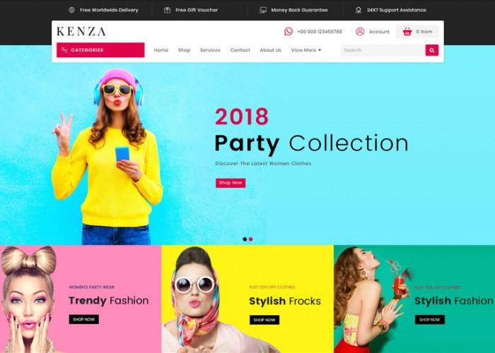 Kenza – Premium Responsive MultiPurpose Opencart 3 Theme