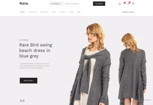 Kera – Premium Responsive Fashion WooCommerce WordPress Theme