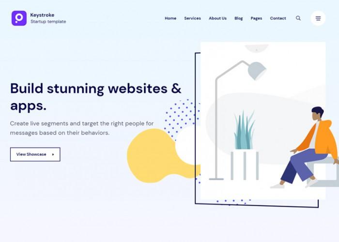 Keystroke – Premium Responsive Creative Agency HTML5 Template