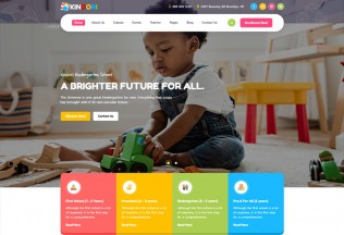 Kindori – Premium Responsive School Kindergarten WordPress Theme