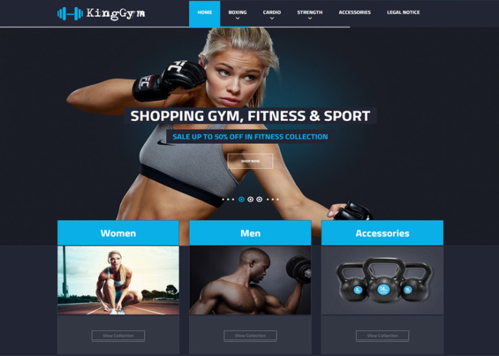 Kinggym – Premium Responsive Fitness, Gym and Sport Prestashop Theme