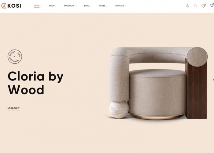 Kosi – Premium Responsive Furniture WooCommerce WordPress Theme