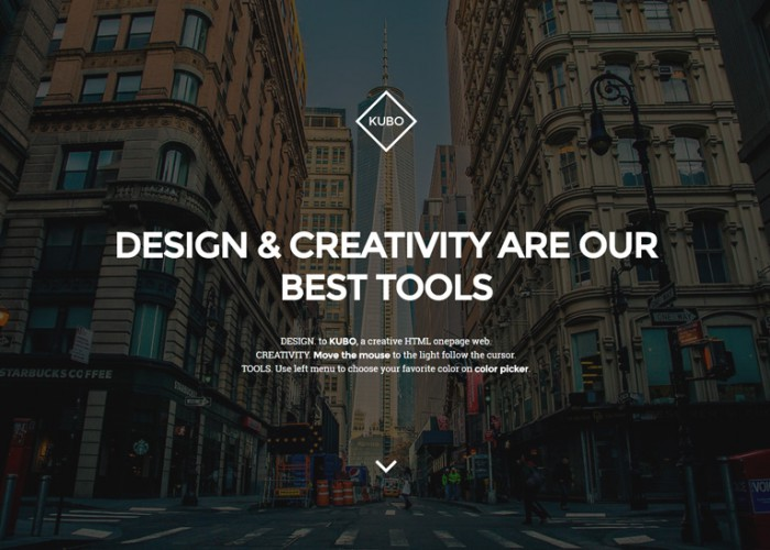 KUBO – Premium Responsive 3D WebGL Multipurpose HTML5 Template