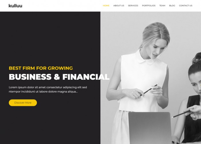 Kulluu – Premium Responsive Creative Agency Joomla Template