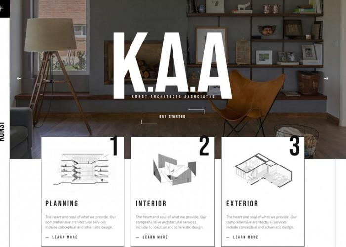 Kunst – Premium Responsive Architecture WordPress Theme