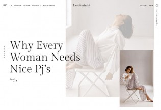 LaFeminite – Premium Responsive Fashion Blog WordPress Theme