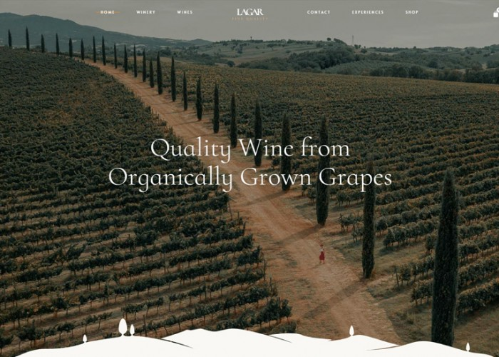 Lagar – Premium Responsive Winery Wine Shop WordPress Theme