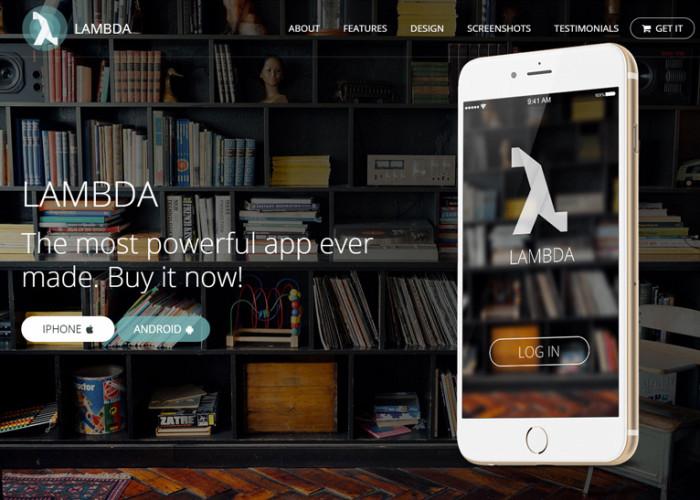Lambda – Premium Responsive Multipurpose Bootstrap HTML5 Template