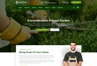 Landmaster – Premium Responsive Landscaping WordPress Theme