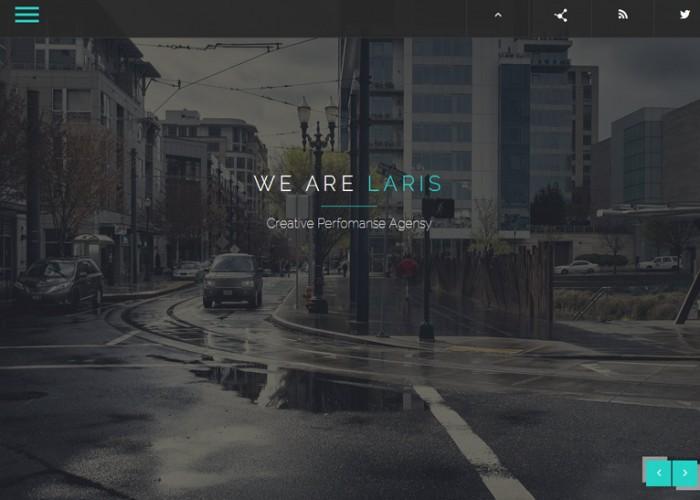 Laris – Premium Responsive Multipurpose HTML5 Template