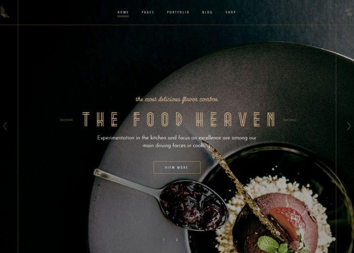 Laurent – Premium Responsive Elegant Restaurant WordPress Theme