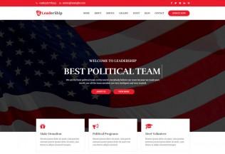 Leadership – Premium Responsive Political HTML5 Website Template