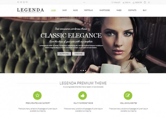 Legenda – Premium Responsive MultiPurpose WordPress Theme