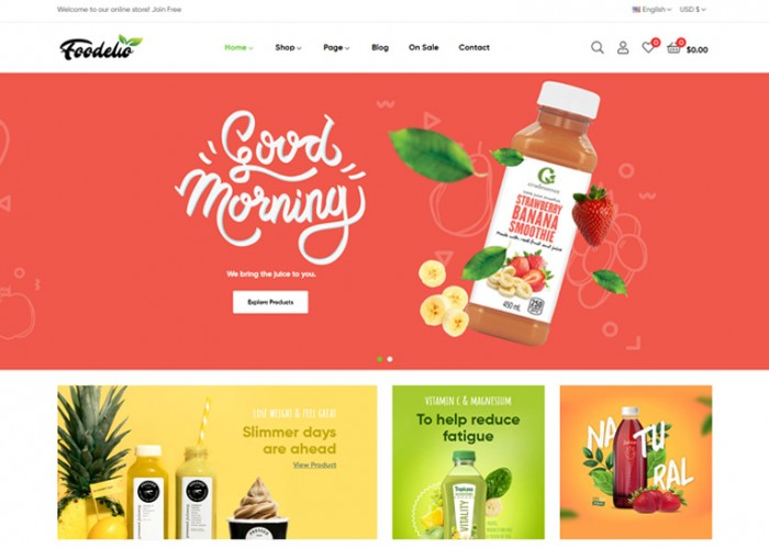 Leo Foodelic – Premium Responsive Organic Food Prestashop Theme