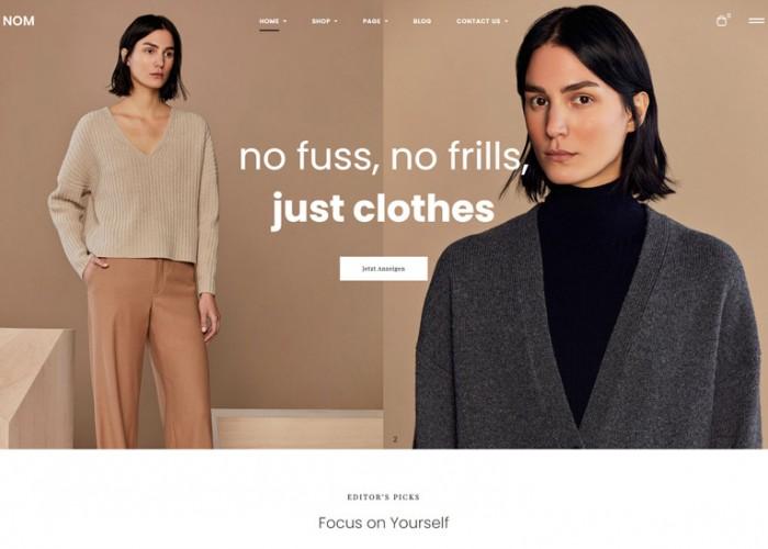 Leo Nom – Premium Responsive Clothing  Prestashop Theme