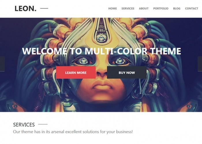 Leon. – Premium Responsive MultiPurpose WordPress Theme