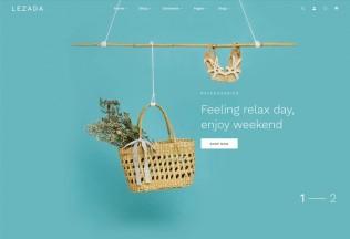 Lezada – Premium Responsive React Next eCommerce HTML5 Template