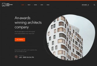 Liarch – Premium Responsive Architecture & Interior HTML5 Template