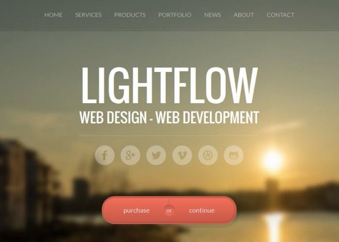 Lightflow – Premium Responsive OnePage Parallax WordPress Theme