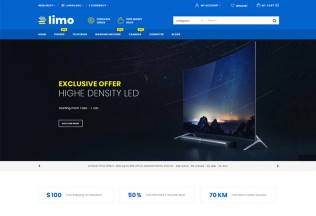Limo – Premium Responsive Multipurpose OpenCart 3 Theme
