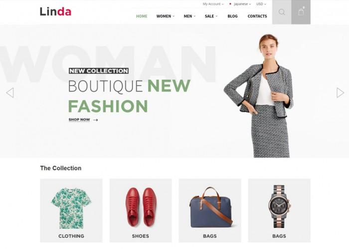 Linda – Premium Responsive Multi Store Magento 2 Themes