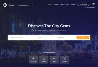 Listdo – Premium Responsive Directory Listing WordPress Theme