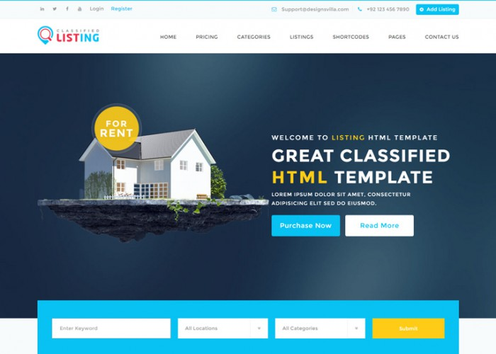 Listing – Premium Responsive Directory Multipurpose HTML5 Template