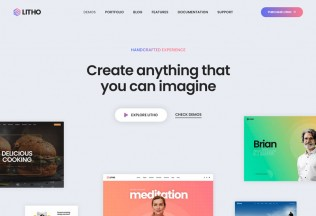 Litho – Premium Responsive Multipurpose Elementor WordPress Theme