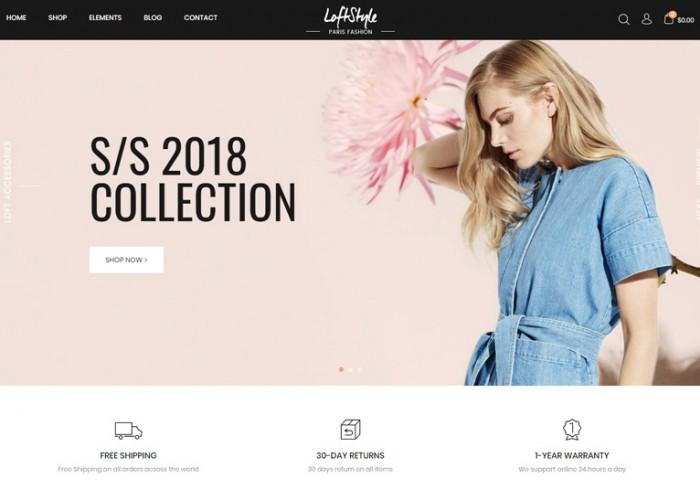 LoftStyle – Premium Responsive Magento 2 Template
