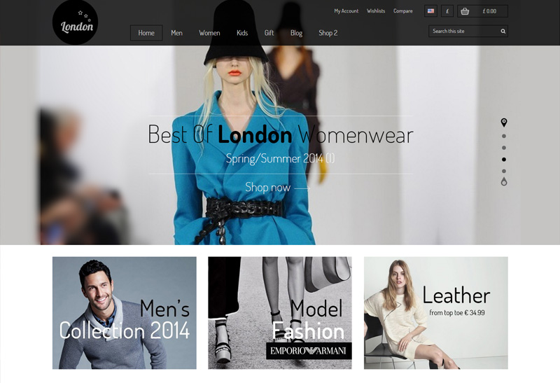 London Stars - Premium Responsive Prestashop Theme