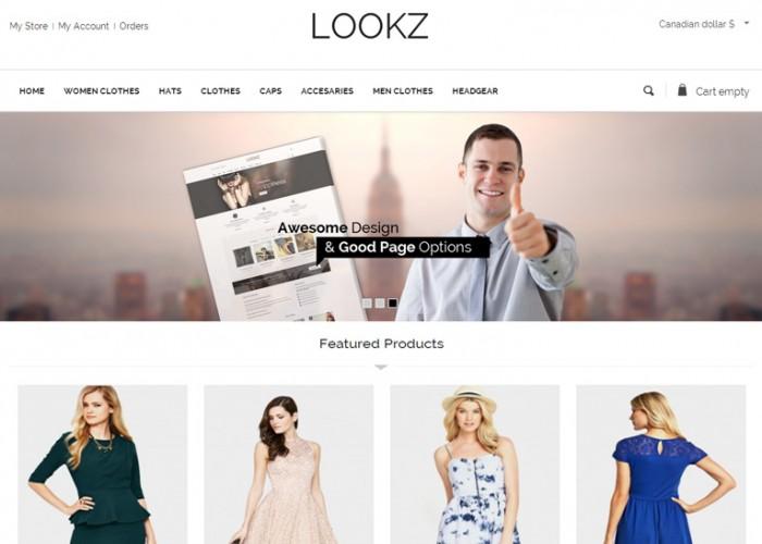 Looks – Premium Responsive Parallax VirtueMart Joomla Template