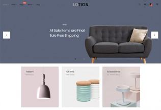 Lotion – Premium Responsive Interior Home Decor Prestashop Theme