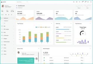 Lucid – Premium Responsive Angular 7 Admin HTML5 Template