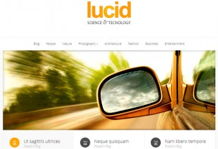 Lucid – WordPress Premium Responsive Theme