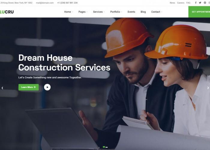 Lucru – Premium Responsive Construction Building HTML5 Template