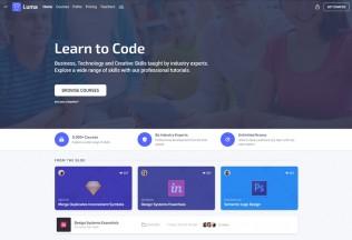 Luma – Premium Responsive Education LMS Admin HTML Template