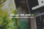 M – Premium Responsive Multipurpose One Page HTML5 Template