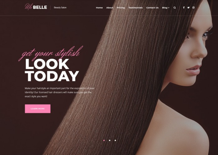 MaBelle – Premium Responsive Beauty Salon WordPress Theme