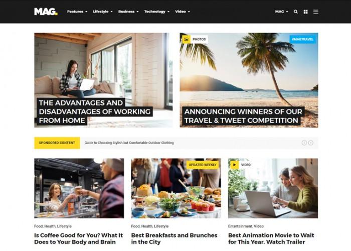 Mag – Premium Responsive Full Featured WordPress Magazine Theme
