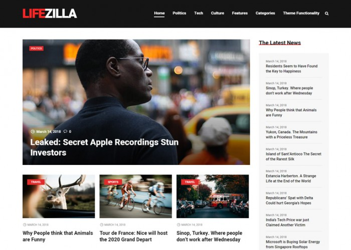 Magazilla – Premium Responsive News & Magazine WordPress Theme