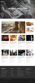 Best News and Magazine Muse Templates in 2015
