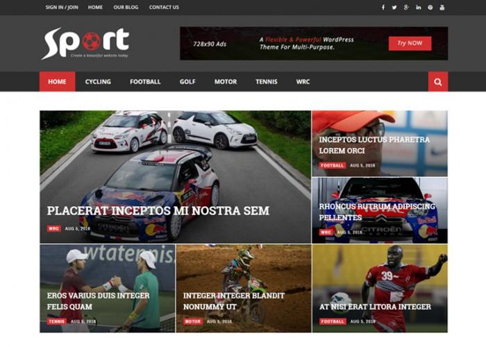 Magneto – Premium Responsive Multi Concept  Magazine Blog WordPress Theme
