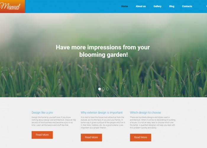 Manuel – Premium Responsive Landscape WordPress Theme