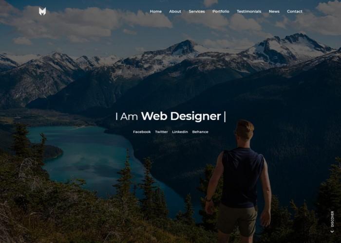 Marox – Premium Responsive Portfolio Resume HTML5 Template