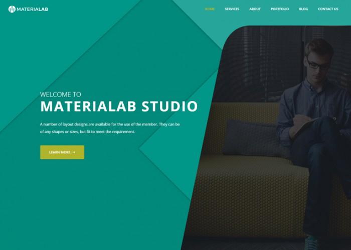 Materialab – Premium Responsive Multi Concept Material HTML5 Template